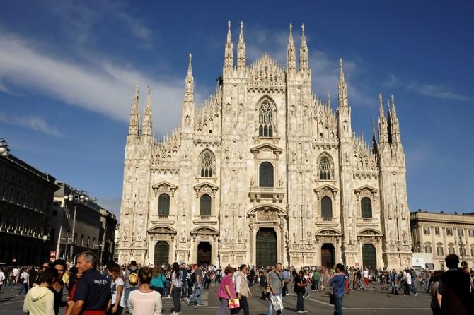 Kuzey İtalya'da bir şehir, Milano