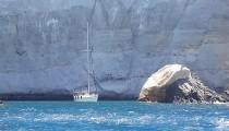 Volkanik, güzel bir taş: Milos