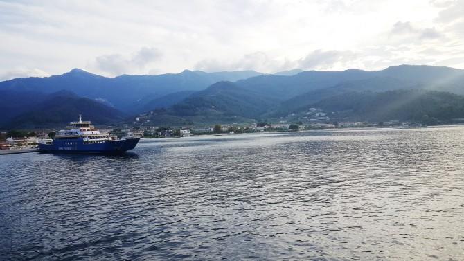 Kuzey Ege'de bir Yunan adası Thasos