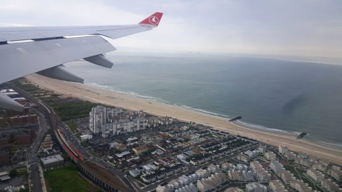 Uçak korkumla vedalaştım
