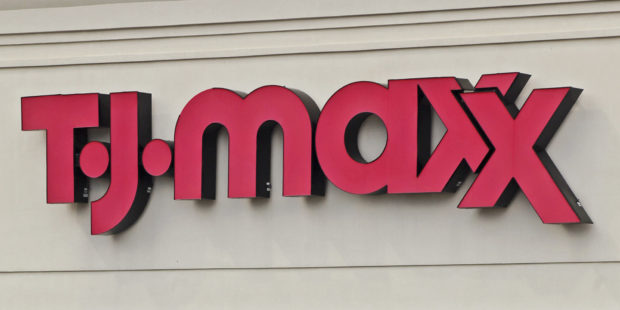 A TJ Maxx store stands in Morton Grove, Illinois, U.S., on Saturday, Aug. 13, 2011. TJX Companies Inc., the apparel and home fashion retailer, is expected to announce quarterly earnings on Aug. 16. Photographer: Tim Boyle/Bloomberg via Getty Images